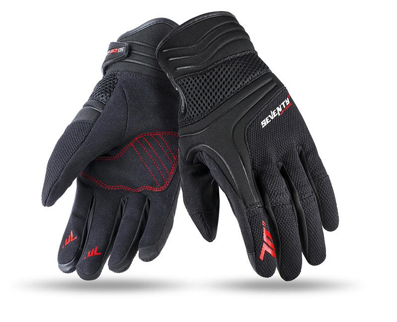 Мотоперчатки SEVENTY SD-C18 SUMMER URBAN MAN BLACK/GRAY
