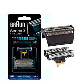 Сітка і ріжучий блок Braun 31B (5000/6000) Series 3 ЄС