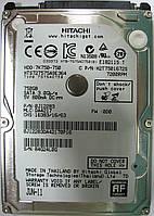 Жесткий диск HDD 750GB 7200rpm 16MB SATA II 2.5 Hitachi HTS727575A9E364 84G24L0G, фото 1