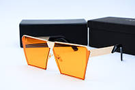 Солнцезащитные очки Dior желтые, фото 1