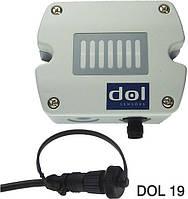 Датчик рівня вуглекислого газу DOL 19 CO2 (напуга живлення 15-35В DC, вих. сигнал 0-10В/4-20мА, IP54)