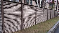 Секция бетонного забора Киев-Одесса шалевка