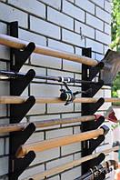 Полка металлическая для садового инструмента на 10 ед.
