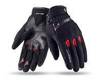 Мотоперчатки SEVENTY SD-C16 SUMMER URBAN MAN BLACK/RED, фото 1