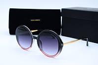 Солнцезащитные очки D&G 6414 серые, фото 1