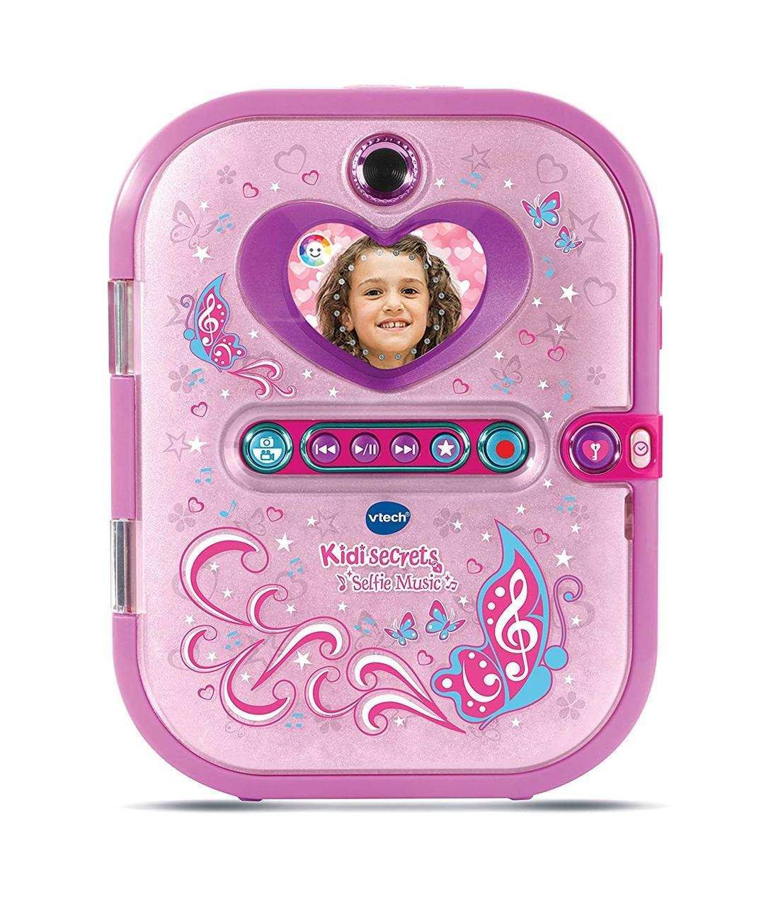 V Tech - KidiSecrets Selfie Music Pink Секретний електронний щоденник