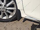 Брызговики Toyota Camry V50 2011-2014 ( комплект 4 шт ), фото 8