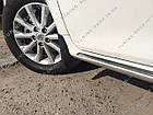 Брызговики Toyota Camry V50 2011-2014 ( комплект 4 шт ), фото 2