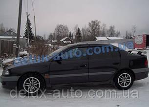 Ветровики Cobra Tuning на авто Toyota Avensis Sd 1997-2002 Дефлекторы окон Кобра для Тойота Авенсис седан 1997