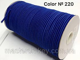 Гумка капелюшна 3мм Колір електрик 220