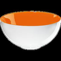 Салатник ASA Selection COLOR-IT оранжевый/белый 26,5 см (1285807)