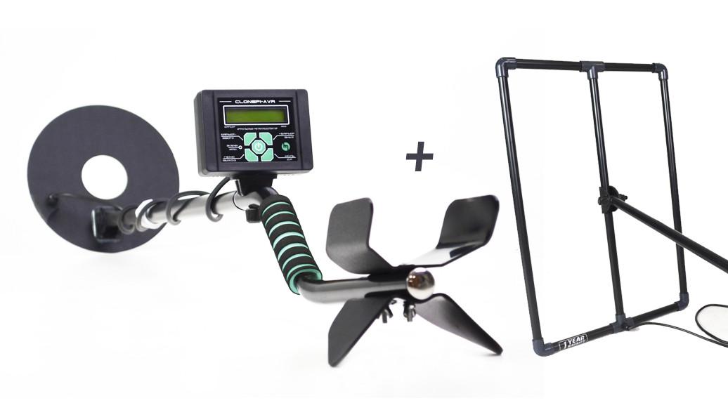 Металлоискатель Clone PI AVR, глубина поиска до 2-3 м. Металошукач + Подарок.