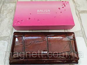 Женский кошелек BALISA из натуральной кожи (Коричневый)