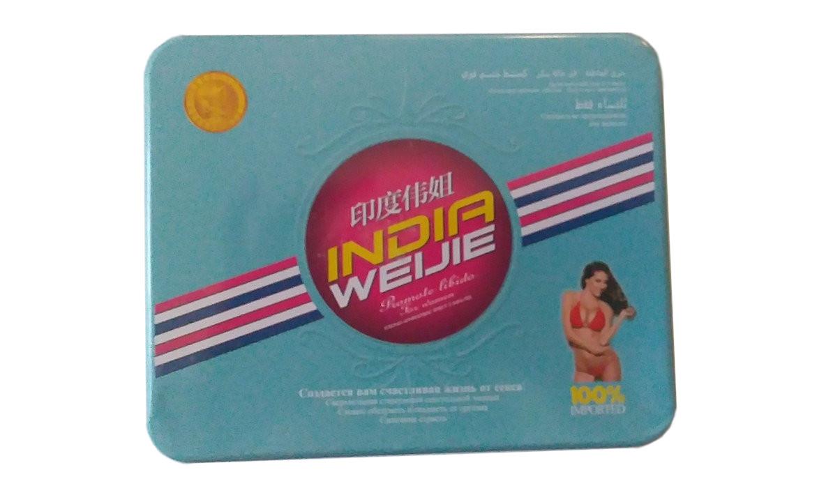 Возбуждающие капли для женщин India Weijie (9 флаконов)