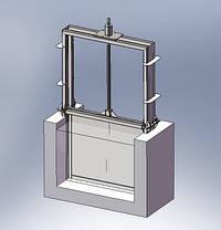 Щитовий затвор (Шандор)  D=1100 мм, фото 2