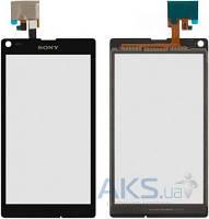 Сенсор (тачскрин) для Sony Xperia L C2104 S36, Xperia L C2105 S36h Original Black