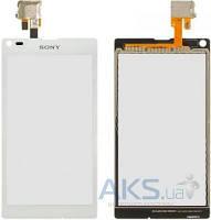 Сенсор (тачскрин) для Sony Xperia L C2104 S36, Xperia L C2105 S36h Original White