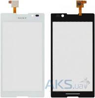 Сенсор (тачскрин) для Sony Xperia C C2305 S39h Original White