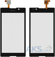 Сенсор (тачскрин) для Sony Xperia C C2305 S39h Original Black