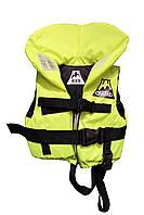 Подростковый спасательный желтый жилет Vulkan Neon Yellow Junior (30-40 кг)