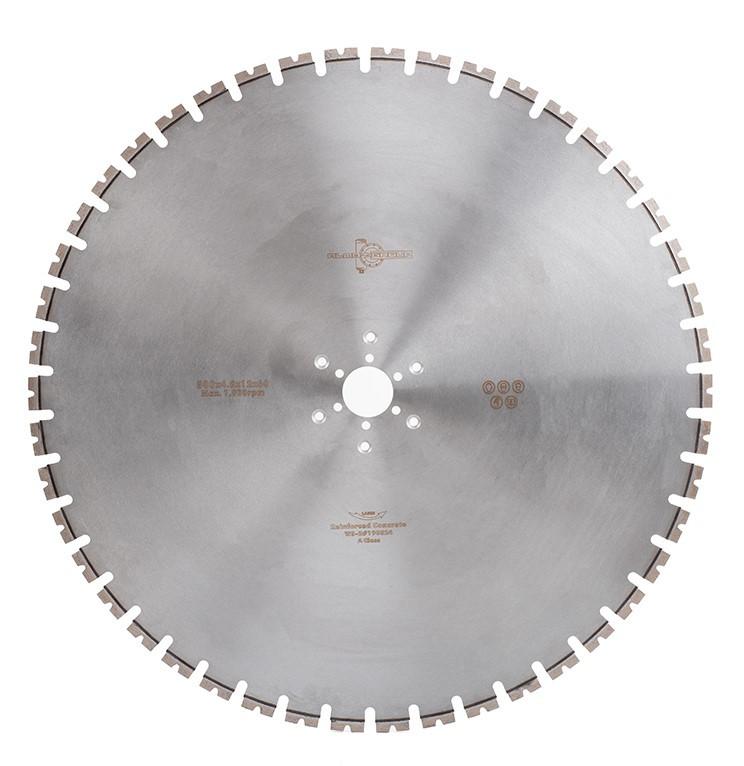 Диск для стенорезной пилы по железобетону 800 мм толщина сегмента  4,8 мм