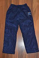 Балоневые утеплённые штаны на флисе для мальчиков,размеры 116-146 см.Фирма TAURUS.Венгрия, фото 1