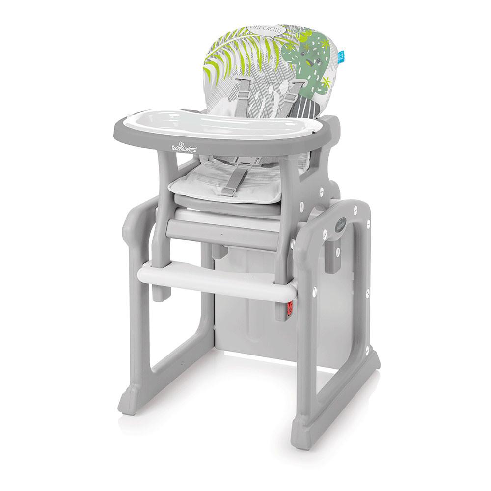 Стульчик для кормления Baby Design Candy / Gray (07) new