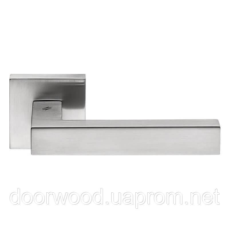 Дверная ручка Colombo Design Ellesse BD21 матовый хром