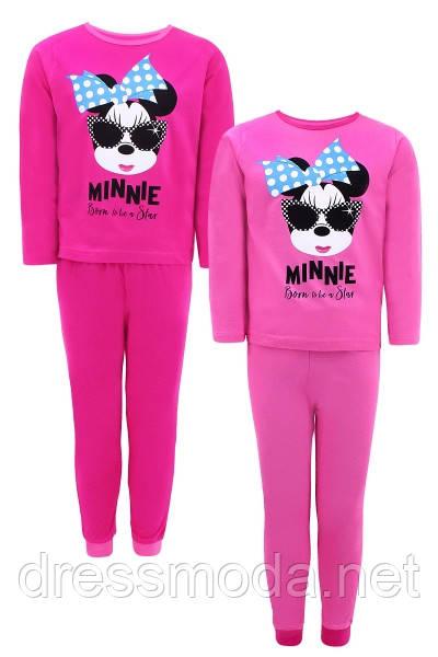 Пижама для девочек Minnie 110-152р.р