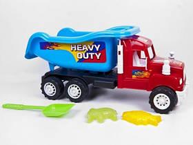 Машина самосвал  Heavy Duty  с песочным набором 15-001-110