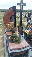 Памятник для мами сучасний комбінований із гранту