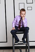 Детский галстук для мальчика SILVER-SPOON Италия 212-1200 разноцветные