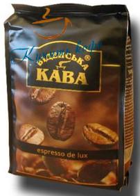 Кофе в зернах Віденська кава Espresso De Luxe 500 гр