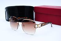 Солнцезащитные очки F 2126 коричневые, фото 1