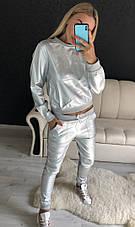 Женский костюм из эко кожи, фото 2