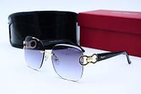 Солнцезащитные очки F 2126 черные, фото 1