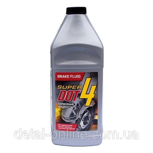 """Тормозная жидкость """"ДОТ-4 SUPER DOT-4"""" 0,5л"""