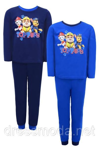 Пижамы для мальчиков Paw Patrol 92-116р.р