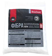Фибра для бетона полипропиленовая -12мм BauGold, 0.9кг, фото 1