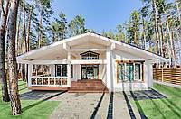 Дом деревянный из клееного профилированного бруса, фото 1