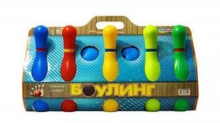 Детская игра кегли 10 шт 1-002