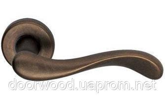 Дверная ручка Mandelli Ande бронза R прор