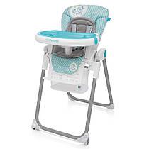 Детский стульчик для кормления  Baby Design LOLLY /Turquoise (05)