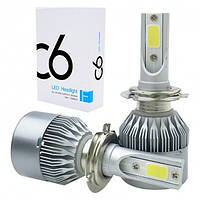 Комплект LED ламп C6 HeadLight H4 12v