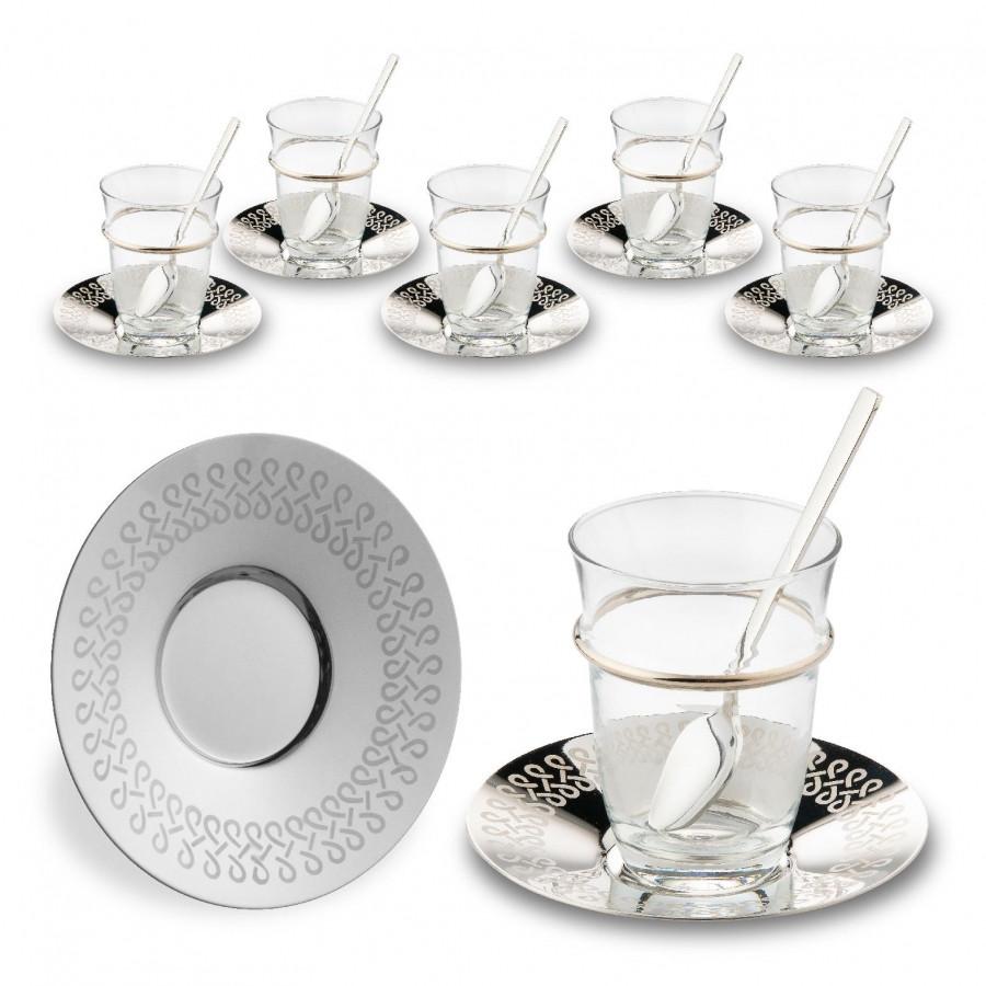 Набор чайных стаканов Doreline Бесконечность на 6 персон