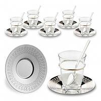 Набор чайных стаканов Doreline Бесконечность на 6 персон, фото 1