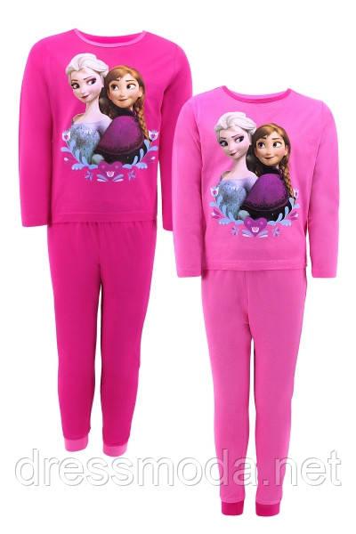 Трикотажная пижама для девочек Frozen 92-116 р. р.