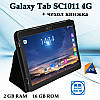"Недорогой Планшет-Телефон Galaxy Tab SC1011 4G 10.1"" IPS 16GB ROM GPS + Чехол-книжка"
