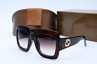 Солнцезащитные очки Guc 11504 коричневые, фото 1