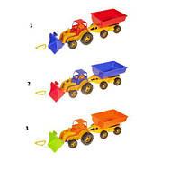 Трактор  Ковш  с прицепом 5079